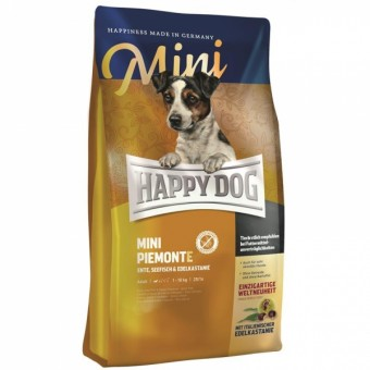 2x 4kg Happy Dog Mini Piemonte + 2kg gratis