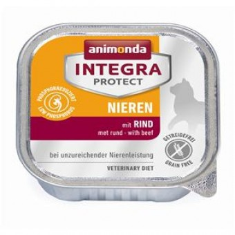 Animonda Cat Integra Protect Niere Rind 32x 100g