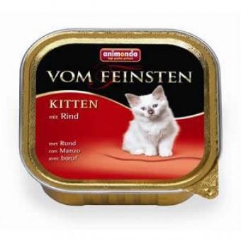 Animonda Cat Vom Feinsten Kitten Rind 64x 100g