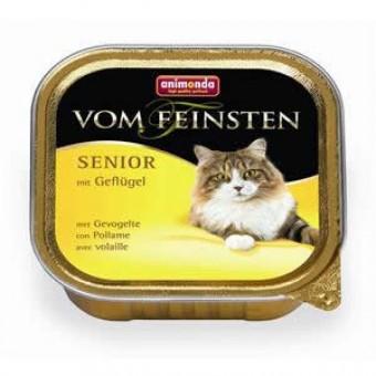 Animonda Cat Vom Feinsten Senior mit Geflügel 64x 100g
