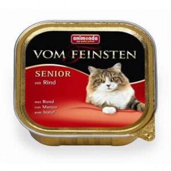 Animonda Cat Vom Feinsten Senior mit Rind 64x 100g