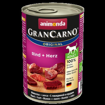 Animonda Dog GranCarno Adult Rind & Herz 36x 400 g