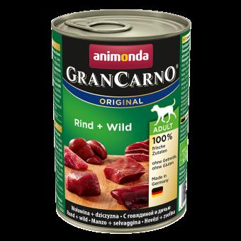 Animonda Dog GranCarno Adult Rind & Wild 36x 400 g