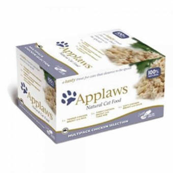 Applaws Cat Schale Multipack Hühnchen Selection | 8x 60g