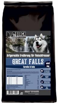 Black Canyon Hund Great Falls Forelle & Ente 1,5 kg