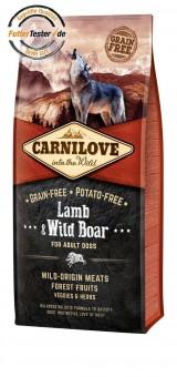 Carnilove Dog Adult Lamm & Wildschwein 12 kg