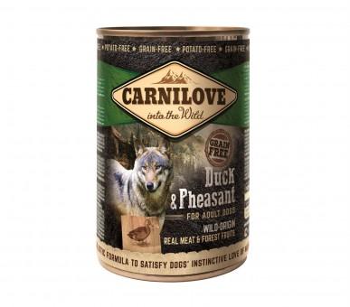 Carnilove Dog Dose Adult Ente & Fasan 12x 400g