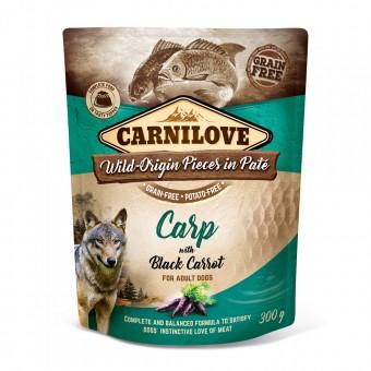 Carnilove Dog PB Paté Karpfen & schwarze Karotte 12x 300g