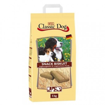 Classic Dog Hunde-Snack gebacken Biskuit 5 kg