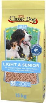 Classic Dog Light & Senior 15 kg