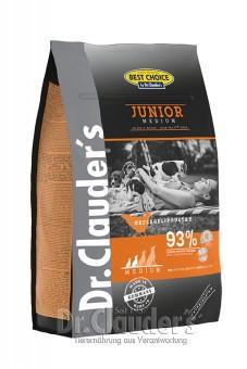 Dr. Clauders Best Choice Junior Medium 4 kg
