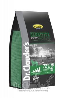 Dr. Clauders Best Choice Sensitive Lamm & Reis 12,5 kg