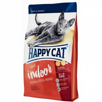 Happy Cat Supreme Indoor Voralpen-Rind 2x 10 kg | Vorteilspack