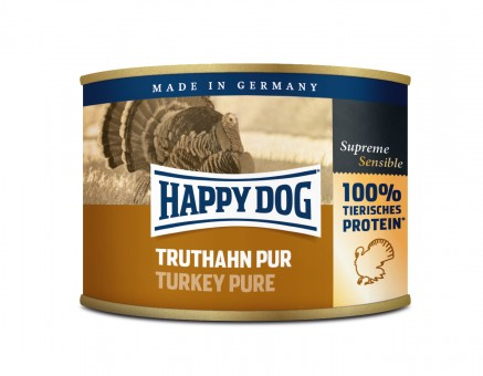 Happy Dog Dose Truthahn Pur