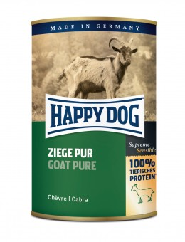 Happy Dog Dose Ziege Pur