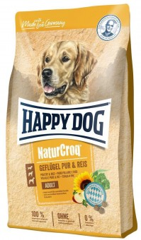Happy Dog Premium NaturCroq Geflügel pur & Reis