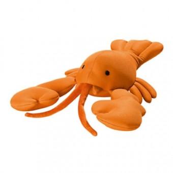 Hunter 3 Stück Hundespielzeug Hummer schwimmend | orange