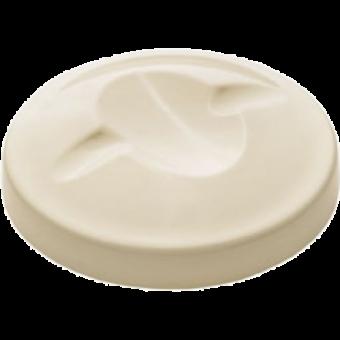 Hunter Melamin-Abdeckungen für Dosen 10cm   weiß, 3 Stück