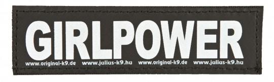 Julius-K9® Klettsticker | Größe XS bis L S | GIRLPOWER