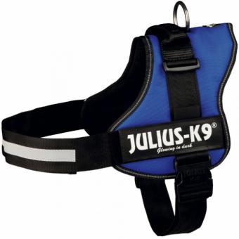 Julius-K9 Powergeschirr | blau Gr. 3/XL: 82-118 cm/50 mm