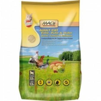 MAC´s Cat Adult Ente, Pute & Huhn 2x 7 kg | Vorteilspack