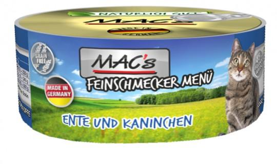 MAC's Cat Feinschmecker Ente & Kaninchen
