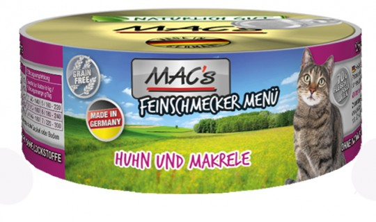 MAC's Cat Feinschmecker Huhn & Makrele
