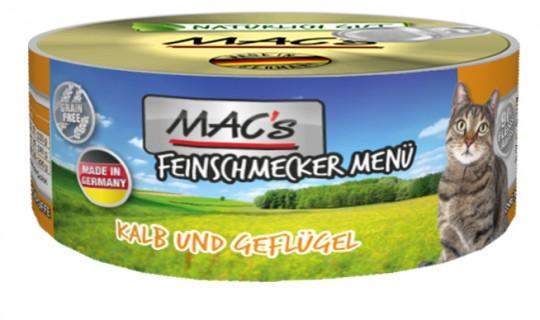 MAC's Cat Feinschmecker Kalb & Geflügel