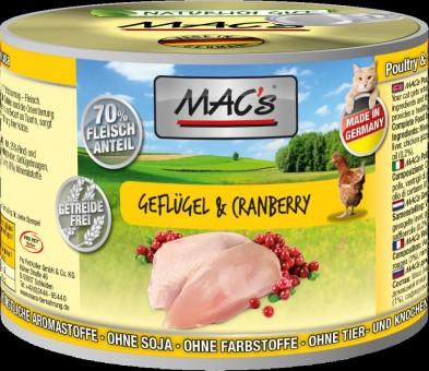 MAC's Cat Geflügel & Cranberry