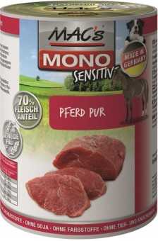 MAC's Dog Dose Mono-Protein Pferd Pur