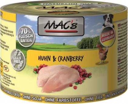 MAC's Dog Hühnchen & Cranberry