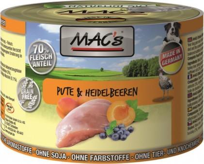 MAC's Dog Pute & Heidelbeere
