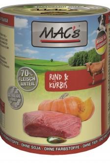 MAC's Dog Rind & Kürbis 400g | 12er-Sparpack
