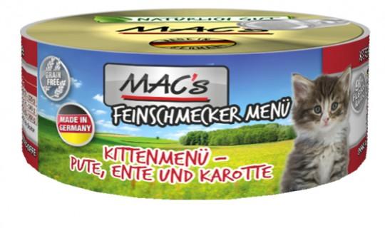 MAC's Kitten Feinschmecker Ente, Pute & Karotte