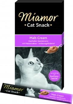 Miamor Cat Snack Malt Cream 11 Pack à 6x 15g