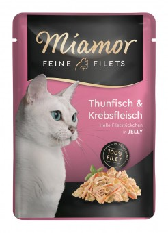 Miamor Feine Filets Thunfisch & Krebs 24x 100g