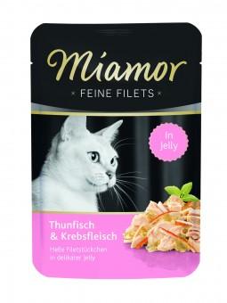 Miamor Feine Filets Thunfisch & Krebs 24x 100g