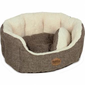 Nobby Komfort Bett ALBA | braun 45 x 40 x 19 cm