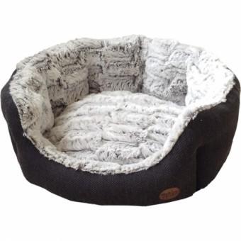 Nobby Komfort Bett CACHO 65x57x22 cm | dunkelgrau