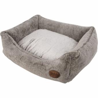Nobby Komfort Bett CUDDLY | hellbraun 60 x 48 x 19 cm