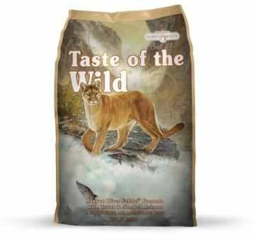 Taste of the Wild Cat Canyon River 2x 7 kg | Vorteilspack