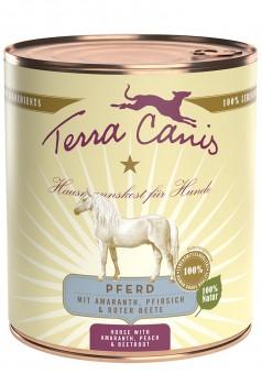 Terra Canis Classic Pferd mit Amaranth, Pfirsich & Rote Bete 12x 800g