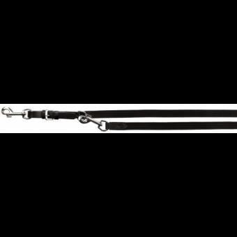 Trixie Active V-Leine | Zügelgurt | M-L | 2,00 m-18 mm | schwarz