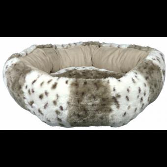 Trixie Bett Leika ø 50 cm   beige-weiß-beige