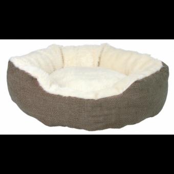 Trixie Bett Yuma | braun-wollweiß ø 45 cm