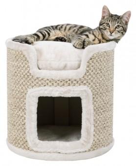 Trixie Cat Tower Ria | 37 cm | lichtgrau-natur
