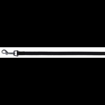 Trixie Classic Leine | schwarz XS-S: 1,20 m/15 mm