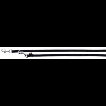 Trixie Classic V-Leine | schwarz XS: 2,00 m/10 mm