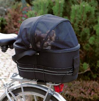 Trixie Fahrradtasche 29x42x48 cm | schwarz