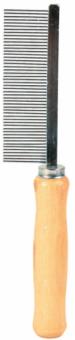 Trixie Kamm   Holzgriff   feine Zinken 17 cm 1 Stück